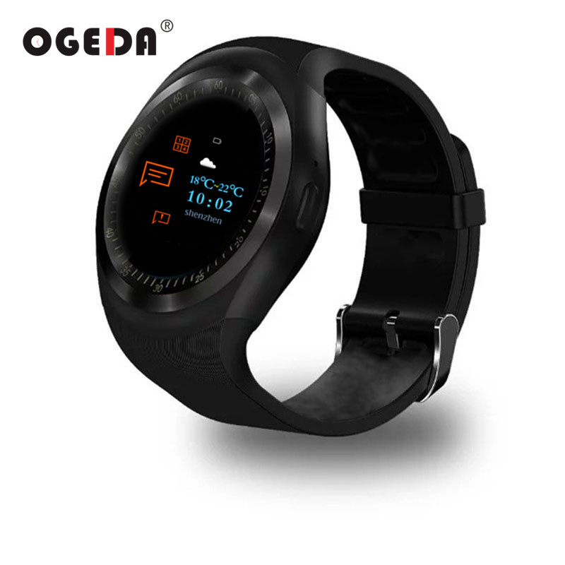 OGEDA Men Smart Watch O1 Plus MTK2502 Heart Rate Monitor Smartwatch Bluetooth 4.0 Call SMS Reminder Wristwatch for IOS Android g5 heart rate monitor smart watch mtk2502 fitness tracker call sms reminder camera smartwatch for ios android pk gt08 u8 dz09