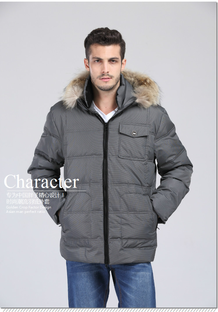 Dependable New Arrival Male Down Coat Fur Collar Thickening Thermal Winter Jacket Casual Plus Sizexl-5xl 6xl 7xl 8xl 9xl 10xl 11xl 12xl13xl