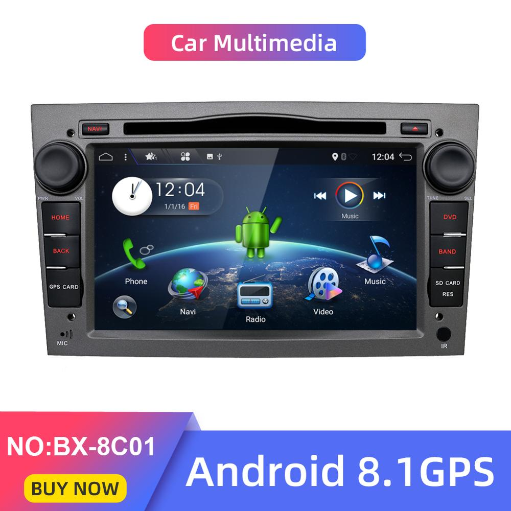 car multimedia Android 8 1 2Din Car DVD AUTORADIO NAVIGATION For Vauxhall Opel Astra H G