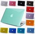 Для Macbook air 11 12 13 15 дюймов Pro Retina Luxury новый Прозрачный Кристалл сумка для ноутбука Защитная крышка ясно жесткие пластиковые мешки