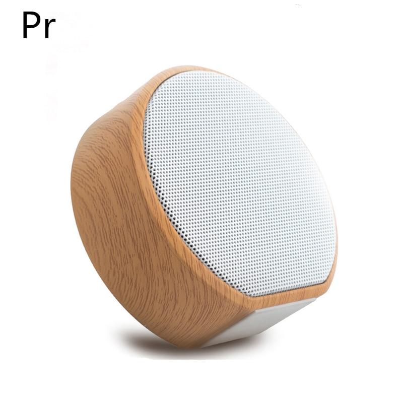 Brilliant Mini Wood Aux Portable Wireless Bluetooth Speaker Cute Cool Speakers Soundbar Mic Tf Fm Usb Sound Box Stereo Outdoor Tv Phones