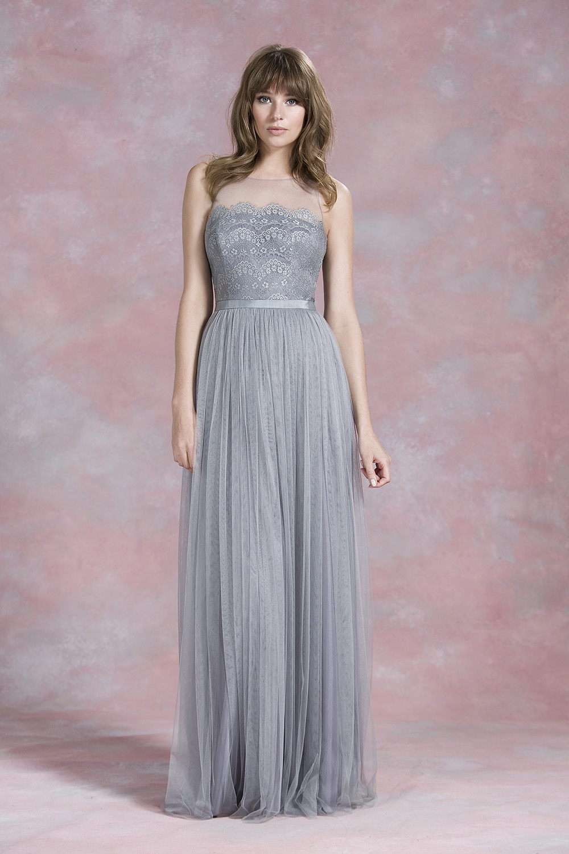 watters spring wedding dresses gray dresses for wedding
