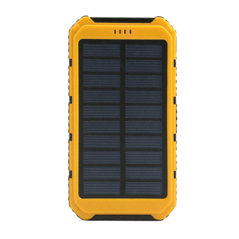 Solar Charger Mobile Waterproof font b Power b font font b Bank b font 8000mah Backup