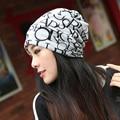 Sombrero de invierno Bufanda Caliente de Esquí Skullies Gorros Sombreros de Invierno para Las Mujeres de punto de Mujer de Marca Ciclismo Beanie Invierno Gorro Cap 2015