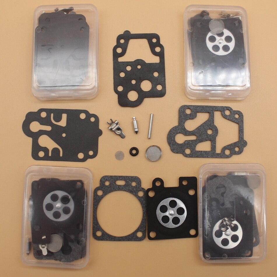 5Pcs/lot Carb Repair Overhaul Kit For Walbro K10-WYC WYC-2-1 WYC-3-1 WYC-4-1 WYC-6-1 Homelite Blower