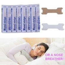 50 шт. отличные дыхательные носовые полоски против храпа, пластырь