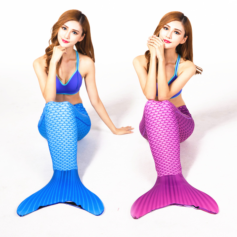 ФОТО Adult Swimmable Mermaid Tail Wetsuits W Monofin 3d Full Scale Printing Mermaid Tail Wetsuit Lycra Swimming Mermaid Tail Wetsuits