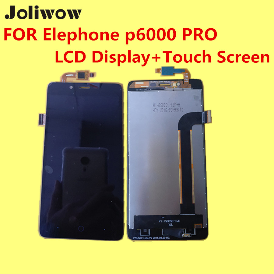 PARA Elephone p6000 PRO LCD Display + Touch Screen + Herramientas 100% Original