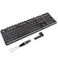 PBT Pudding Keycaps Backlit Doubleshot ANSI ISO Keyset Cherry MX Key Caps For 87/104/108 MX Switches Mechanical Keyboard