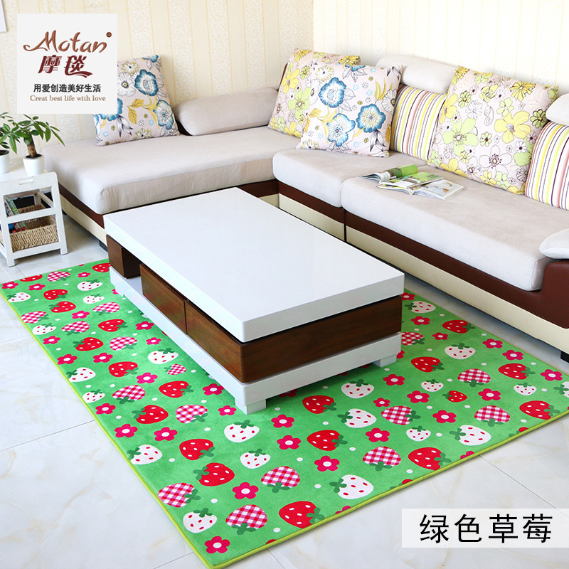 Cashmere carpet coffee table. The bedroom carpet carpet balcony slip children bed