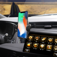 Infrared Sensing Automatic Wireless Car Charger For Apple iPhone XS Max XR X 8 Plus Samsung Galaxy Note 9 S9 S8 xiaomi huawei