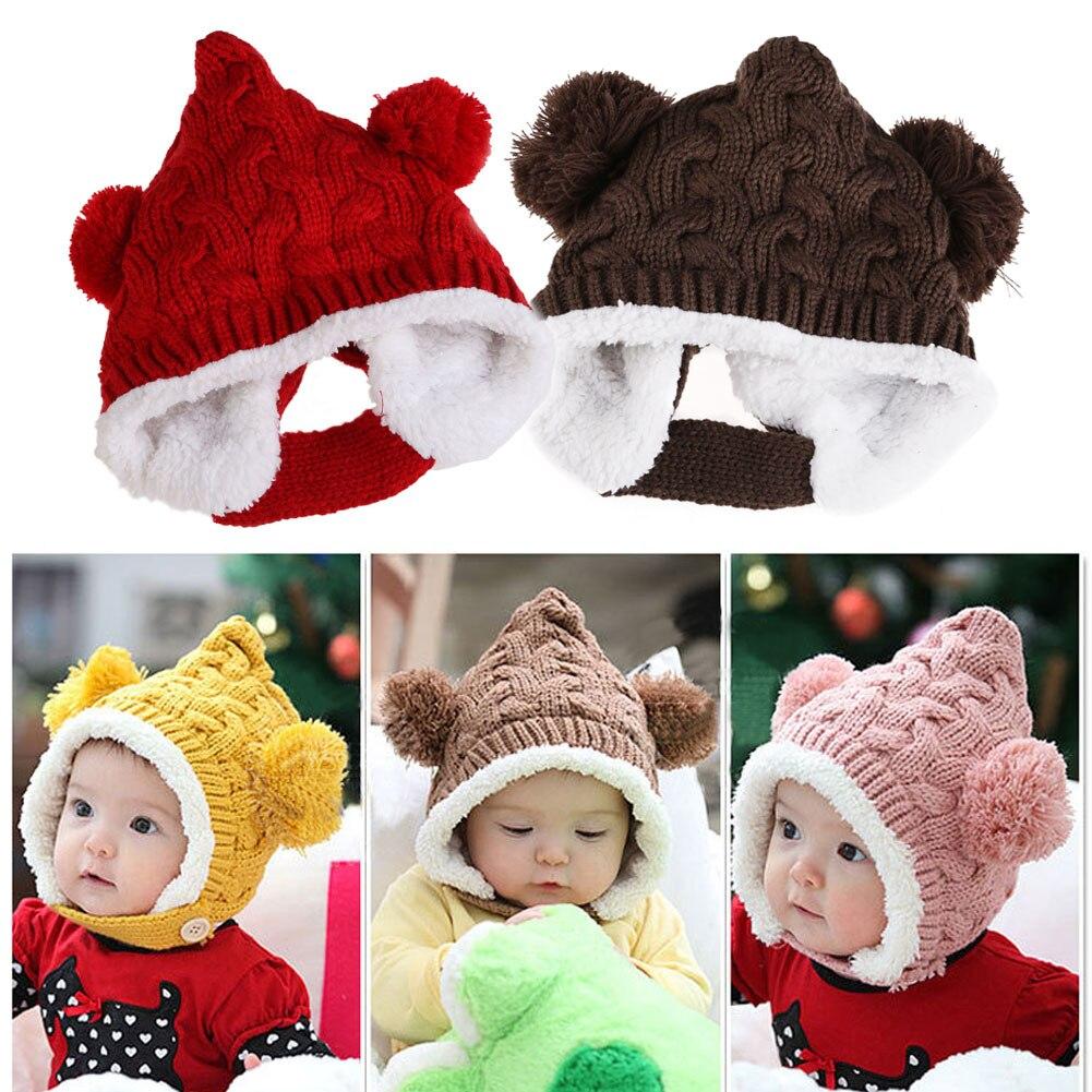 ... Fille Enfants Infantile D hiver Caps 5 Couleurs Enfants de chapeaux.  Click here to Buy Now!! 1-4A Bébé D 663cbe8d927