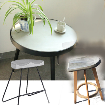Concrete table and chair mold Concrete home furniture molds Customization acceptable Cement bar stool silicone mold