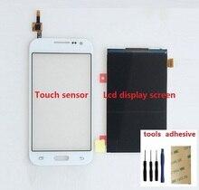 Czujnik Digitizer ekran dotykowy + wyświetlacz LCD ekran dla Samsung Galaxy rdzeń Prime SM G361F G361H + klej + zestawy