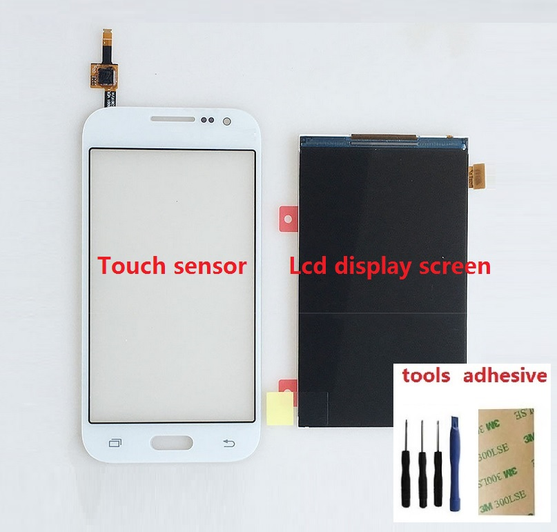 Touch Screen Digitizer Sensor + LCD Display Screen For Samsung Galaxy Core Prime SM-G361F G361H+ Adhesive + Kits