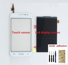 Touch Screen Digitizer Sensor + LCD Display Screen For Samsung Galaxy Core Prime SM G361F G361H+ Adhesive + Kits
