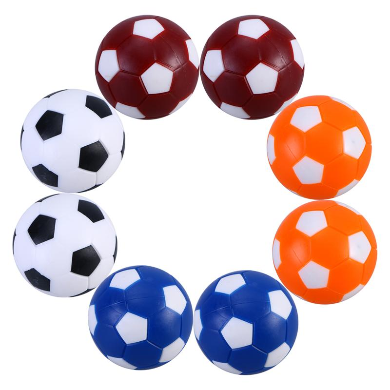 8PCS Mini Colorful Table Soccer Footballs Replacement Balls Tabletop Game Ball 36mm