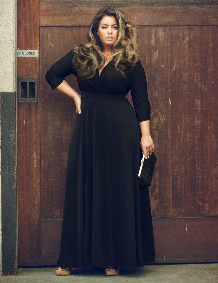 Plus Size Women Clothing 3xl New Autumn V Neck Party Long Dress Big