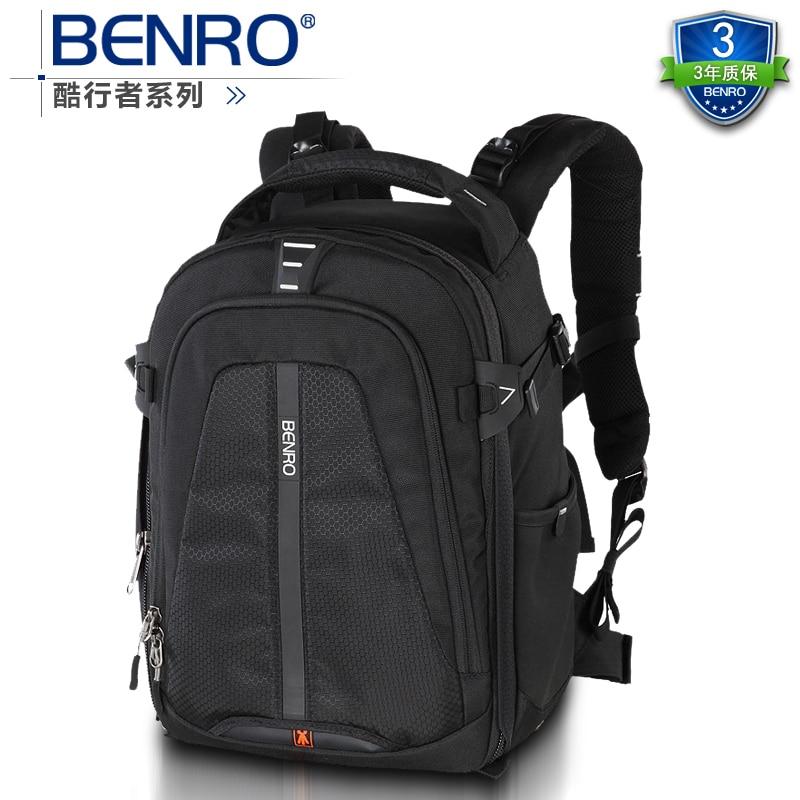 Benro paradise cw 250 double-shoulder slr series professional photo camera bag backpack rain cover штатив benro t 800ex