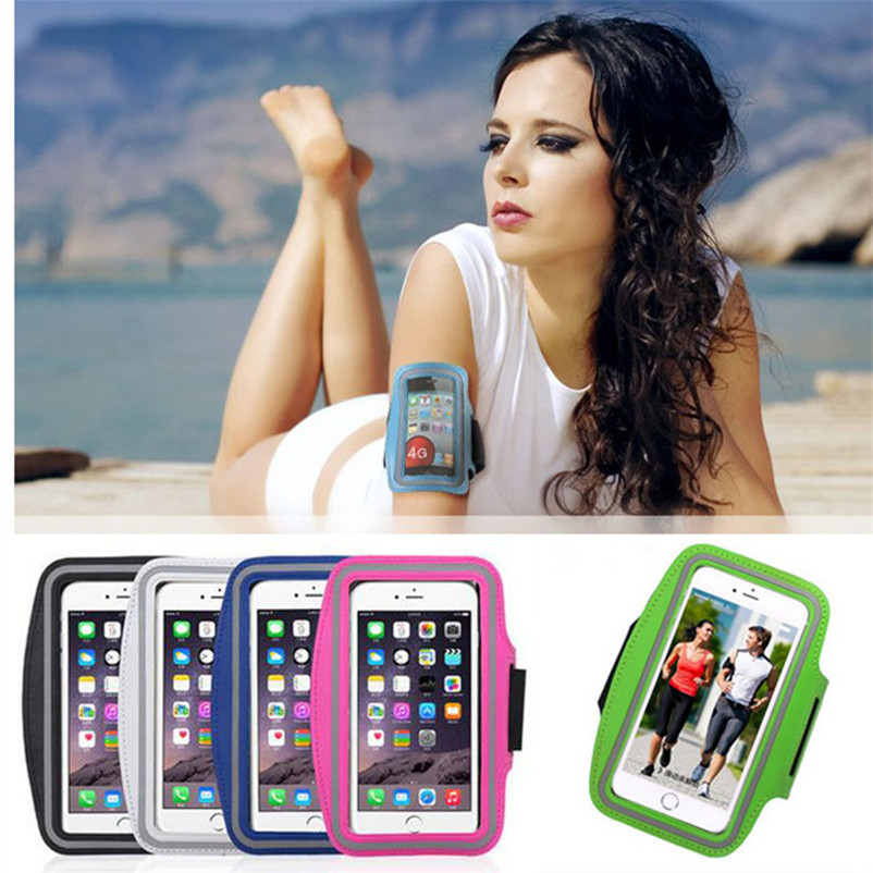 Sport Arm Band Case Running Gym Cell Phone Belt Pounch Pouch Workout Mobile Cover Bag Holder For Samsung Galaxy S7 Edge j7 j1 j5