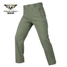 Winter Hiking Pants Men Softshell Fleece Camo Outdoor Sport Camping Trekking Combat Military Tactical Women Waterproof Trousers