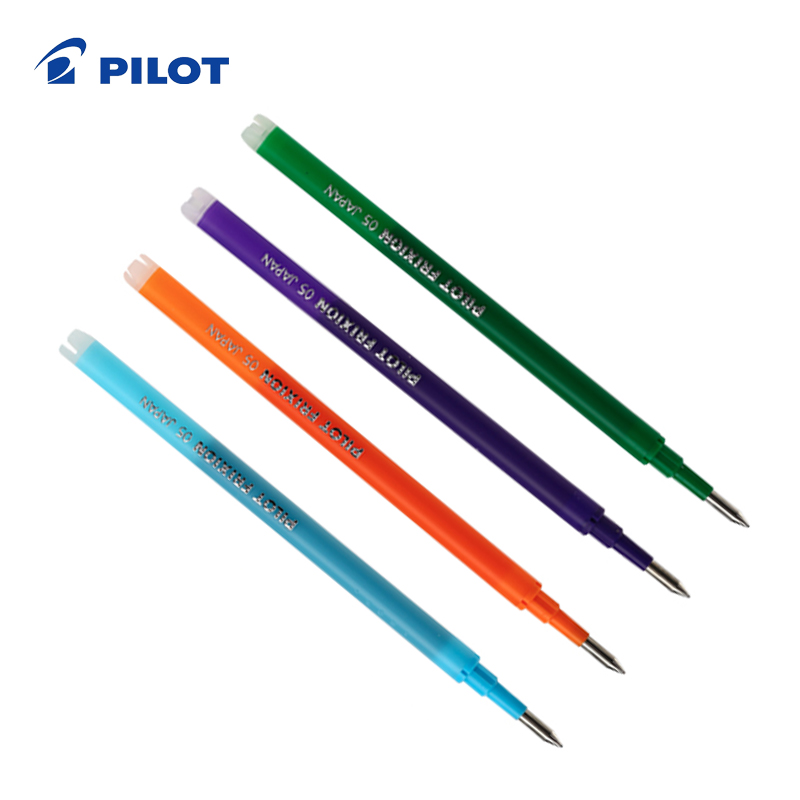 Pilot Gel Colorful Refills FriXion Pen 0.5 Mm Easy Erasable Ink Drawing Doodle School Student Stationery BLS-FR5 1 Piece