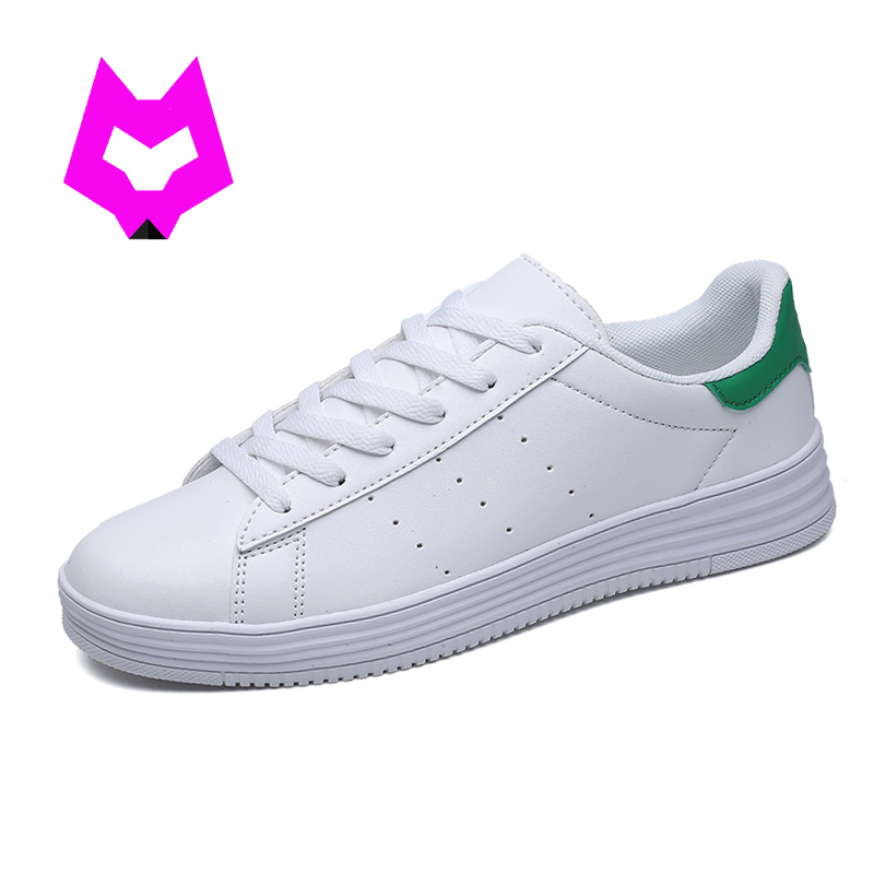 YTracyGold Women White Flats Shoes Woman Tenis Feminino Zapatos Mujer Stans zapatillas mujer Leather Canvas boat shoes Moccasins 2017 metal head women shoes genuine leather oxford shoes for women flats shoes woman moccasins ballet flats zapatos mujer z464