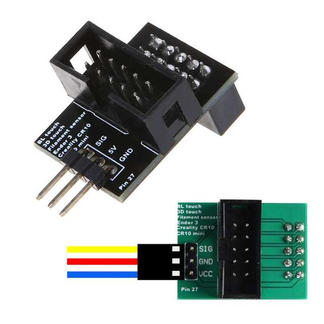 Creality CR-10/Ender 3/Ender 5 Pin 27 Interface Adapter Board for BL Touch  Filament Sensor 3D Printer Parts Accessories
