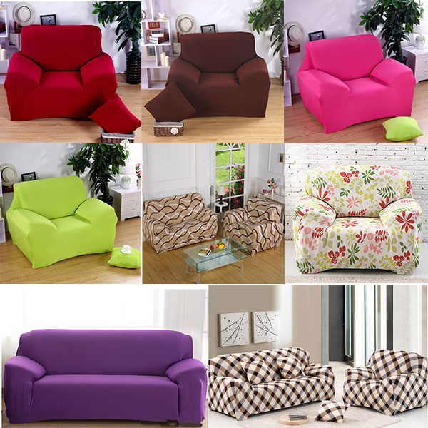 2 Seater Sofa Love Seat Removable Washable Elastic Slipcover Lounge Couch Cover In From Home Garden On Aliexpress Alibaba Group