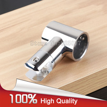 304 Stainless steel shower room bathroom pipe connector top holder fitting T-Bracket diameter 25mm chrome JF1216