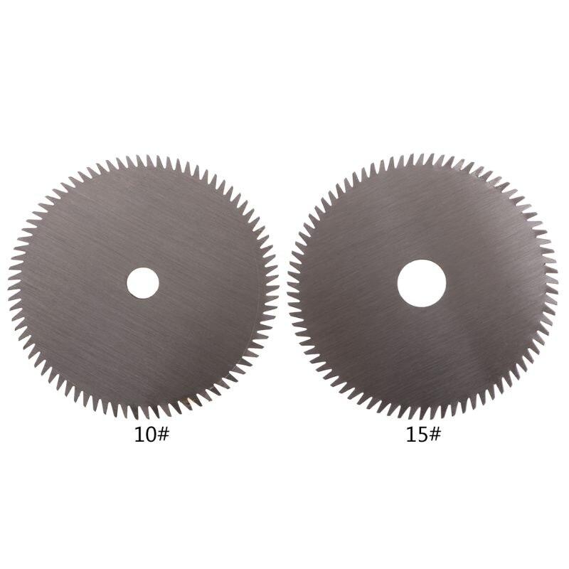 1pc 85mm Electric HSS Mini Circular Saw Mini Power Saw For Wood Mini Power Tools 85*10*1.5 80 Tooth W329
