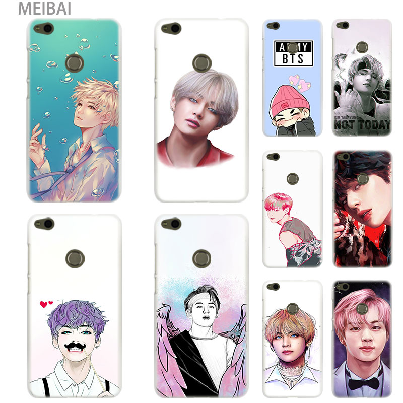 Phone Bags & Cases Strong-Willed Meibai Kim Taehyung V Bts Hard Cover Case For Huawei Honor 5c 9i 4c Pro 6c Pro 7x 7s 7a Pro 8x 9 10 Lite Honor 8 Lite Cover 100% Original