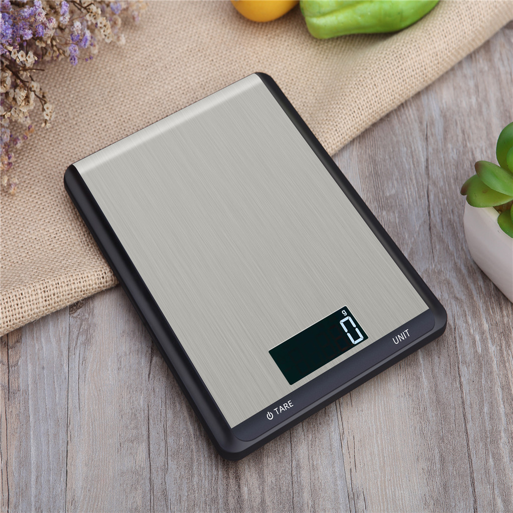 10kg/1g Digital Scale Kitchen Measure Tools Stainless Steel Electronic Weight Dropshipping 2019