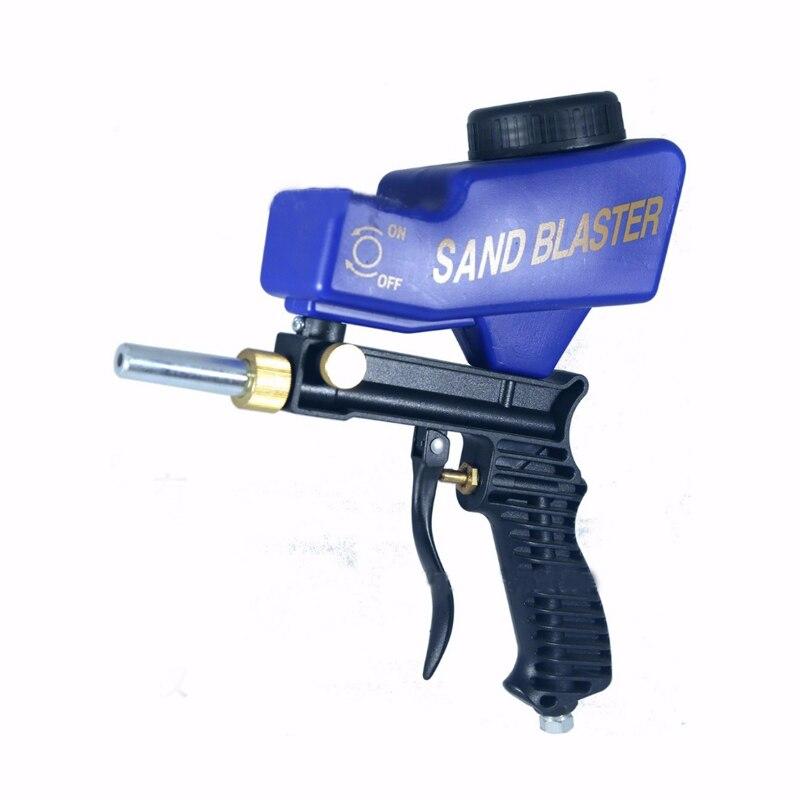 Anti-rost Sand Blaster Spray Gun Mechine Sparen Unnötige Oberfläche Material Können Einstellen Sand Blaster Gun Fließt Und Ändern düsen