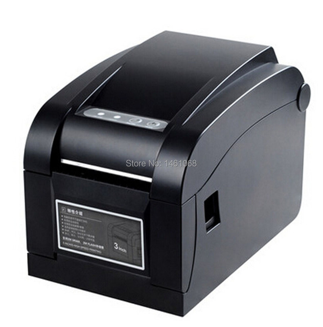 20mm~80mm Direct Thermal USB Barcode Label Printer thermal barcode printer bar code printer