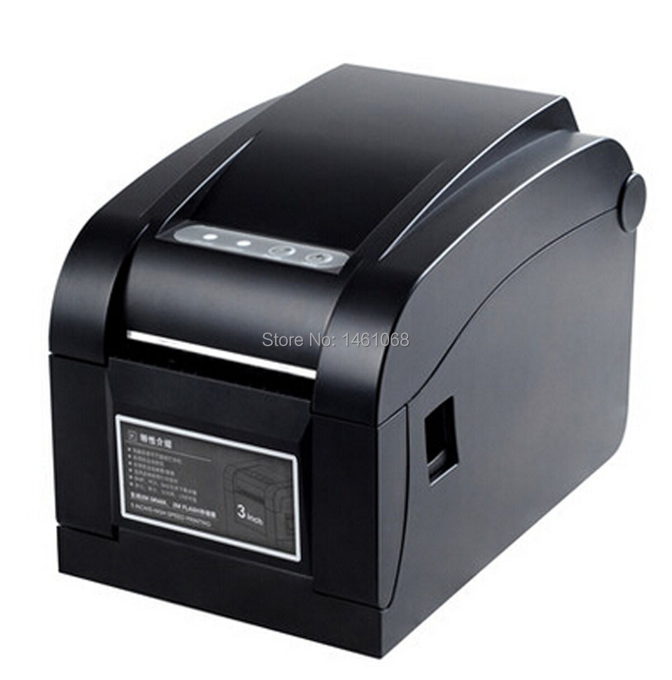 XP-350B JEPOD 20mm~80mm Direct Thermal USB Barcode Label Printer thermal barcode printer bar code printer high quality usb port 127mm s thermal barcode printer rr code thermal barcode printer print width 20 80mm label printer