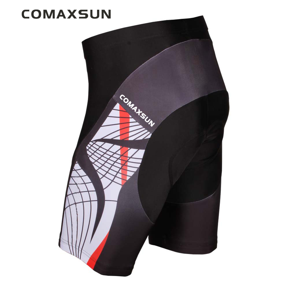 COMAXSUN Men's Cycling Shorts 3D Padded Bike/Bicycle Outdoor Sports Tight S-3XL 10 Style
