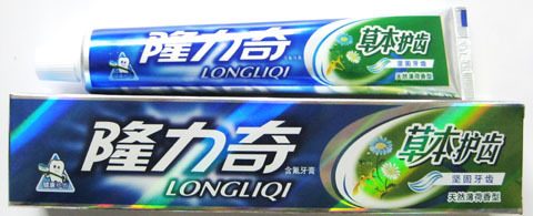 Lung nilfisk 120g/ herb teeth Guchi toothpaste mothproof / / / / herbal extract fresh breath mint flavor
