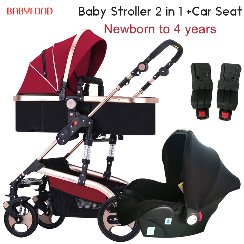 3 in 1 baby strollers 2 in 1 baby stroller newborn folding baby stroller send car seat baby carriage stroller accessory gifts original hot mum baby strollers 2 in 1 bb car folding light baby carriage six free gifts send rain cover