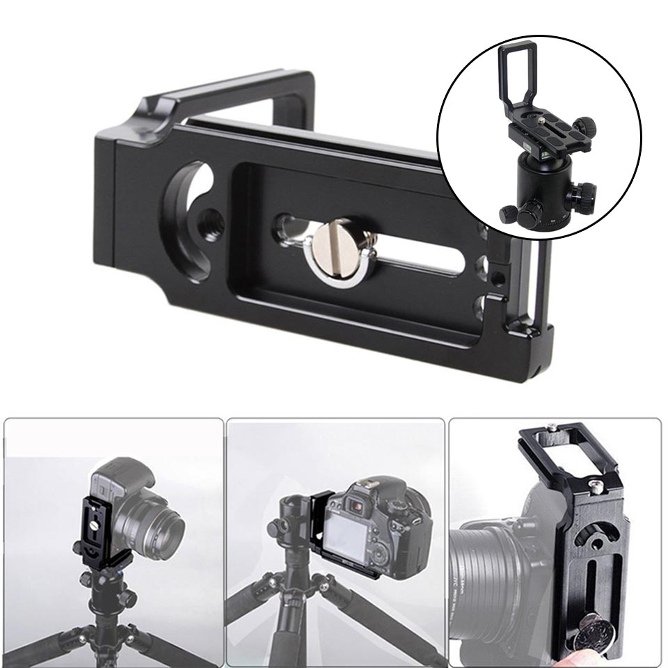 Quick Release L Plate Bracket For Canon EOS 1200D 760D 750D 700D 650D 600D 70D 60D 5Ds 6D 7D 5D Mark II/III Camera accessories