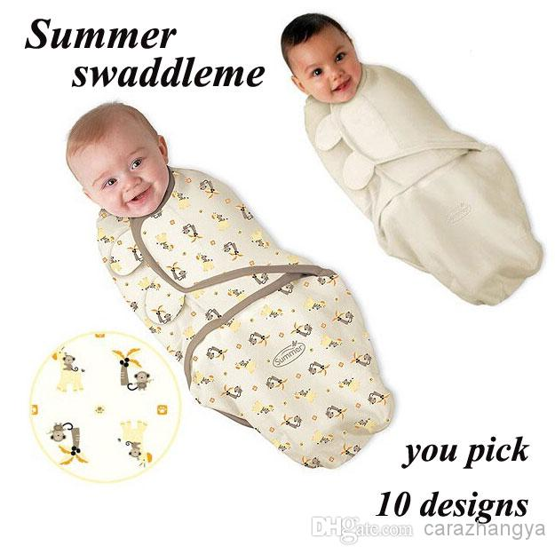 Newborn Baby Swaddle Wrap Parisarc 100 Cotton Soft Infant Newborn