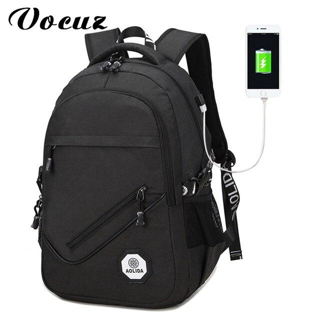 db761a4c18799 Rucksack Männer Frauen Tasche Rucksäcke Männer Reise USB Designer Kapazität  Männliche Rucksack Für Die Schule Mädchen