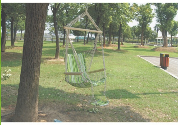 Портативный персонаж висит стул открытый Полосатый Холст Рок Председатель дети крытый патио качалками
