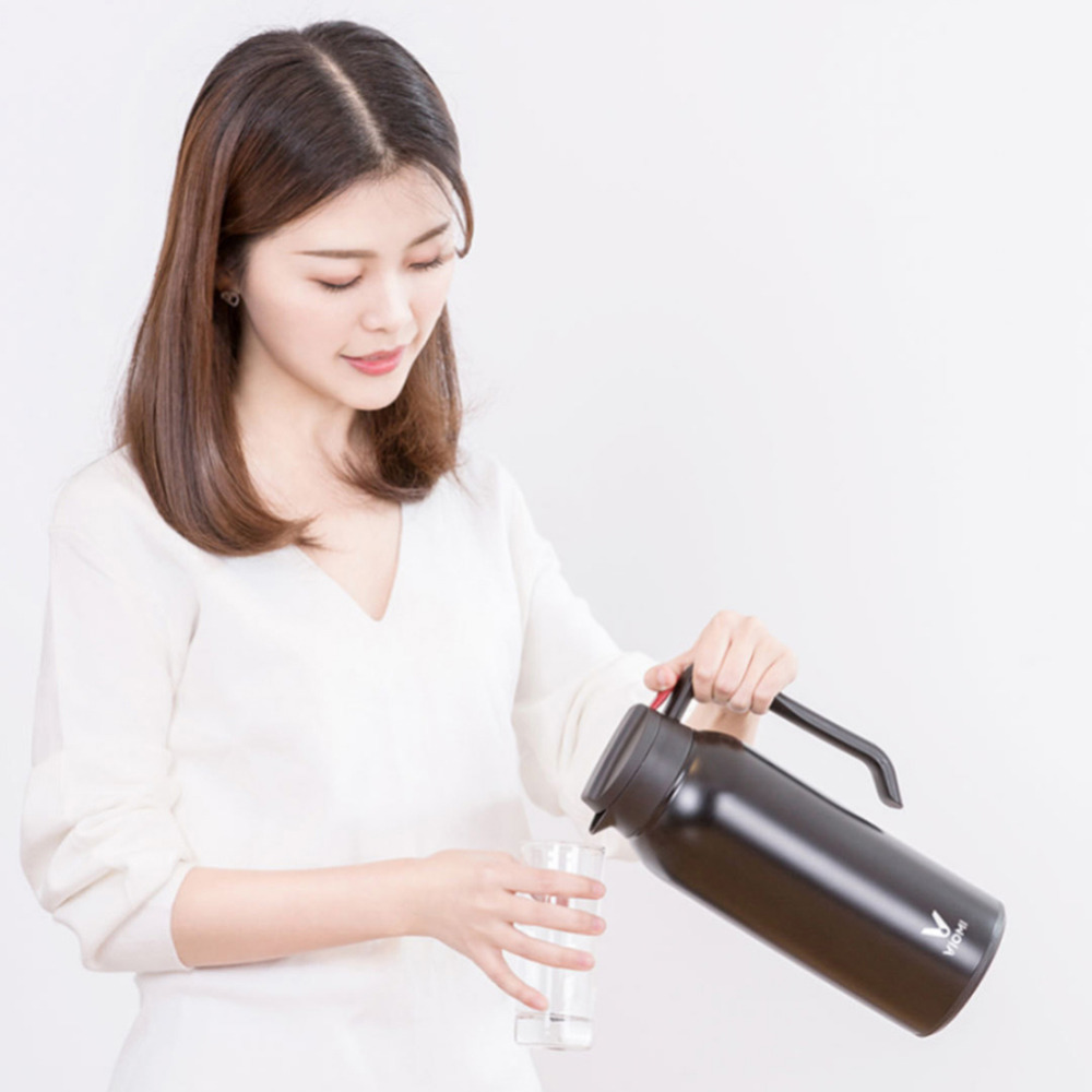 Xiaomi Mijia Thermos Cups 1.5L Stainless Steel Vacuum Thermos Bottle 24 Hours Flask Thermal Smart Insulation Water Kettle (3)