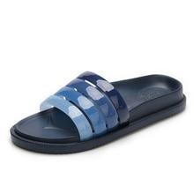Men Summer EVA Sandals Home Bathroom Beach Slippers Comfortable Stripe Flip Flops Mens Flats Shoes