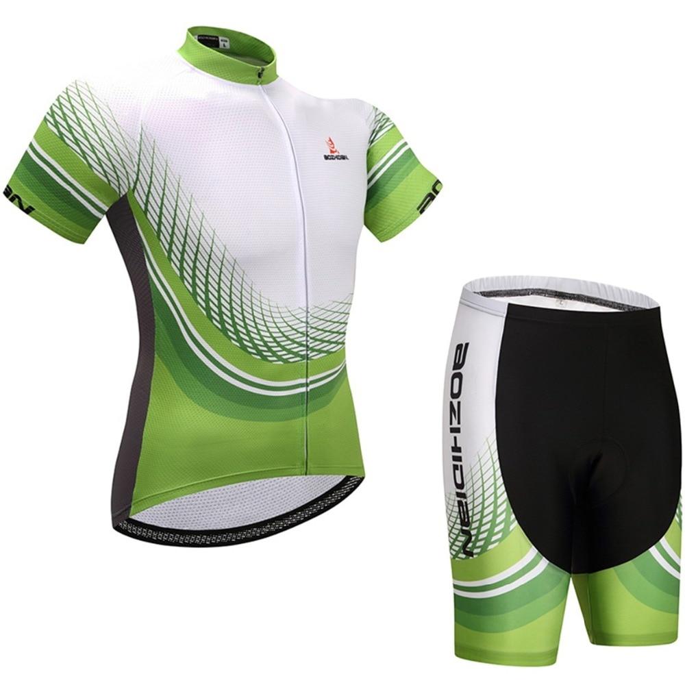 Mens / Womens Cycling Clothing Set Maillot Ciclismo Cycling Jerseys & Bike Shorts Kit Cycling Clothes Set Equipe Cycling Set
