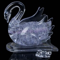 3D Crystal Puzzle Jigsaw Model DIY Swan IQ Toys & Hobbies Souptoy Furnish Gadget Better Gift