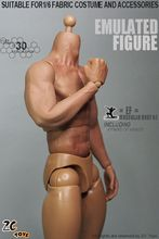 In Stock 1/6 Scale 3.0 Nude Muscular Body Male Action Figure Similar to HT Thor With Seamless Arms Collectible DIY  Toy
