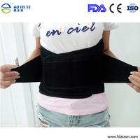 Free Shipping Hot Sale Fashion Lumbar Support Brace Breathable Mesh Four Steels Plate Protection Back Waist