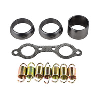 ATV Exhaust Gasket and Spring Rebuild Kit For Polaris RZR 800 2008 2009 2010